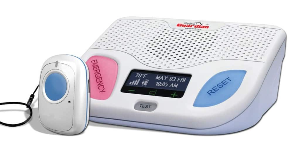 Medical Guardian Wireless Cellular Medical Alert Base Station Unit