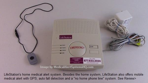 Lifestation medical alert system