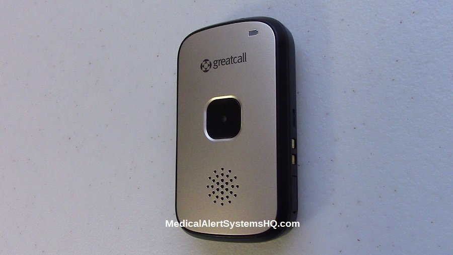 Great Call Splash mobile medical alert sideview