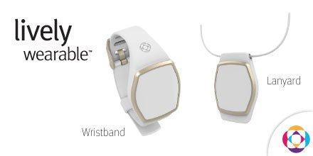Great Call Lively Wearable Watch and Pendant
