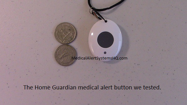 home guardian medical alert button compared to quarters