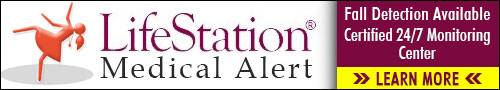 Lifestation Medical Alert Fall Detection Available