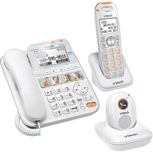 Vtech Careline SN6187 SN6127 Home Safety Senior Telephone System w SN6167 SN6307